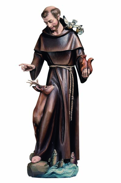 St. Francis of Assisi with Animals Statue