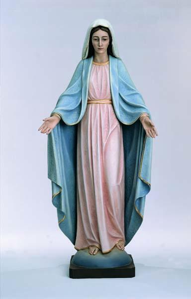 Welcominig Virgin Statue