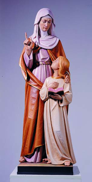 St. Ann and Mary Statue