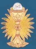 Embroidered Chalice Applique applique, chalice, gold chalice, hand embroidered, church goods, apparel designs, 1730. gaiser, beau veste,