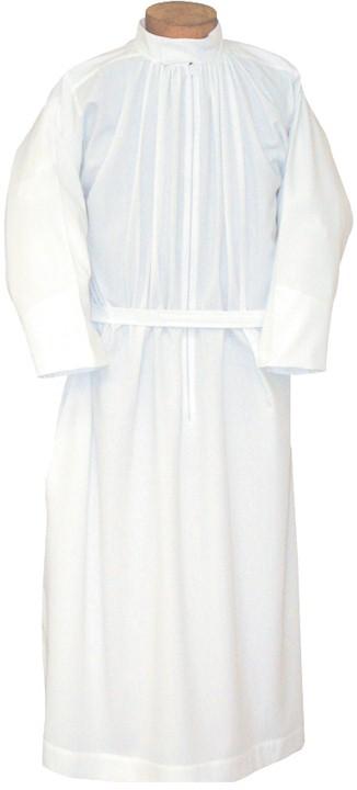 300 Alb alb, monks cloth, linen weave, mens albs, church supplies, 300, gaiser, beau veste
