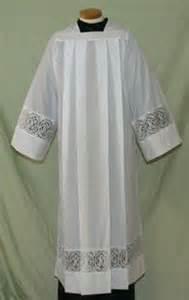 4216 Clergy Alb alb, monks cloth, linen weave, mens albs, church supplies, 4216, gaiser, beau veste, Latin cross, ihs