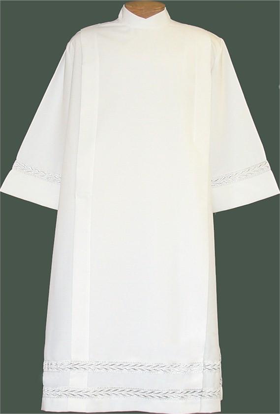 4331 Clergy Alb alb, monks cloth, linen weave, mens albs, church supplies, 4331, gaiser, beau veste