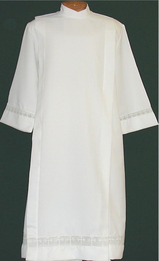 4332 Clergy Alb alb, monks cloth, linen weave, mens albs, church supplies, 4332, gaiser, beau veste