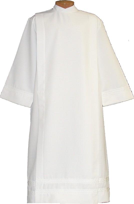 4334 Clergy Alb alb, monks cloth, linen weave, mens albs, church supplies, 4334, gaiser, beau veste