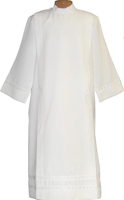 4335 Clergy Alb alb, monks cloth, linen weave, mens albs, church supplies, 4335, gaiser, beau veste