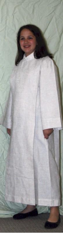 558 Server Alb alb, monks cloth, linen weave, server albs, church supplies, 558, gaiser, beau veste