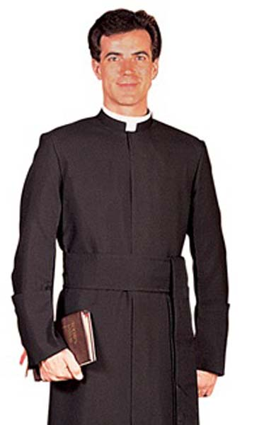 RJ Toomey Semi-Jesuit Summertime Cassock with Cincture RJ Toomey Semi-Jesuit Summertime Cassock with Cincture, 308