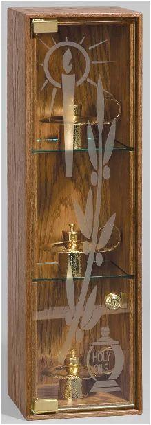7194 Ambry Cabinet with Light 7194 Ambry Cabinet with Light